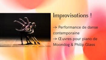 Danse contemporaine - Moondog Glass